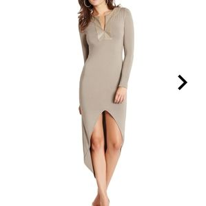 Marciano Long Sleeve Maxi Dress NWT
